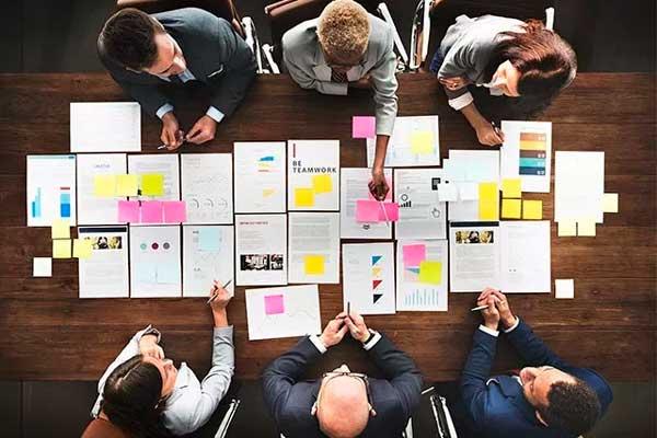 planejamento de ações da empresa